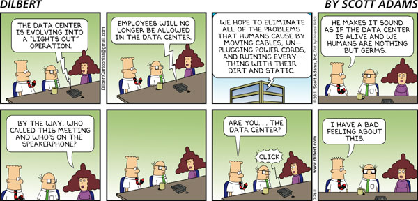 Dilbert on Data Centers