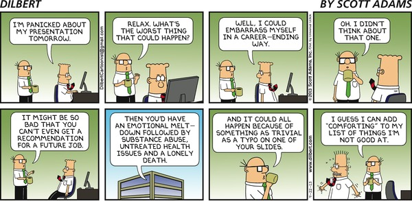 Dilbert on Presentations
