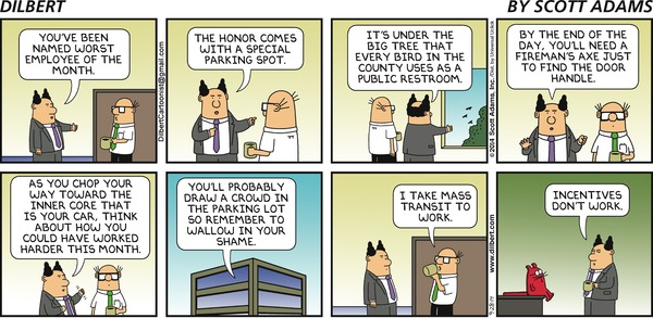 Dilbert on Incentives