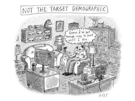 New Yorker's Roz Chast on Target Demographic